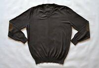 MASSIMO DUTTI Herren Pullover Mens Jumper Gr. XL Cotton/Silk/Cashmere