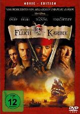 DVD Fluch der Karibik 1 Teil 1 MOVIE EDITION Piraten Film Kinofilm Johnny Depp N