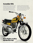 HONDA Brochure CL100 K1 1971 Sales Catalog REPRO