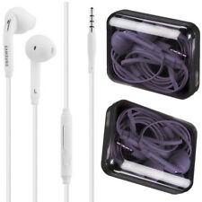 Genuine Samsung White Wired Handsfree Headphones Earphones for Galaxy S6 S7 S8