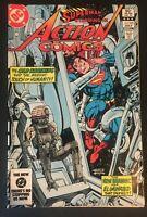ACTION COMICS. NO. 545 SUPERMAN.  BRIANIAC. BRONZE AGE. DC COMIC. GIL KANE-ART.