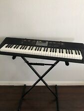 Casio CTK-2100 61-Key Portable Electronic Keyboard with stand and power supply