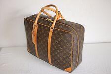 Authentic LOUIS VUITTON Monogram Sirius 45 Soft Suitcase Luggage