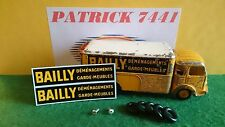 Kit restauration SIMCA CARGO BAILLY DINKY TOYS