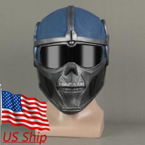 Cosplay Black Widow Captain America Taskmaster Mask Superhero Helmet Latex Props