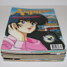 Lot of 13 Animerica Magazines 1996-2000 Viz Vol's 4 & 7 Manga Anime Pokemon