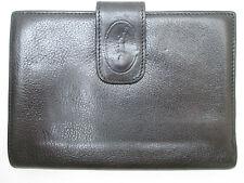 -AUTHENTIQUE portefeuille - porte-monnaie LONGCHAMP    cuir  TBEG vintage 70's