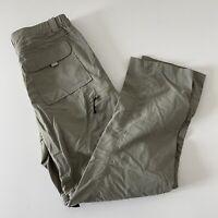 NEW BaLeaf Convertible Hiking Outdoor Pants Men's S Khaki Beige Brown 100% Nylon