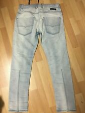 NWT Mens MADE in ITALY Diesel KROOLEY NE JOGG JEANS 0672H Blue Slim W32 L30H6.5