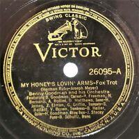 Benny Goodman: My Honey's Lovin' Arms / Farewell Blues: Victor 1938 (Jazz) RARE