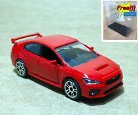 Majorette Subaru WRX STI Red Diecast Car 1/58 275D no Package Free Display Box