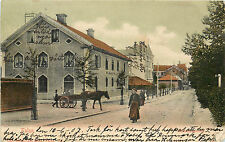 Vintage Postcard Street Scene Falun  Sweden Dalarna County