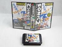 Sonic 2 The Hedgehog Sega Mega Drive No Manual Asian Version