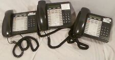 Lot Of 3 Mitel Superset 4025 Telephones Business Office Phone With Bases