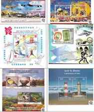 2012 Miniature Sheets Year Pack - set of 6 different MS