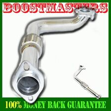 "2.5"" T3/T4-5 Turbo SS Passenger Downpipe FIT 88-00 Honda Civic D15 D16 D-series"