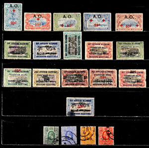 GERMAN EAST AFRICA, BELGIAN & BRITISH OCCUPATION: STAMP COLLECTION