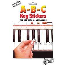 Hal Leonard ABC Keyboard Note Stickers, Model #1009