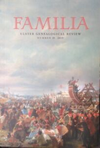 *USED LN* Familia - Ulster Genealogical Review No 35 (Pbk 2019) #176