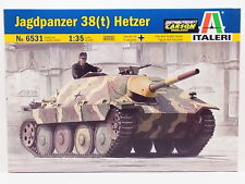 LOT 32866 | Italeri 6531 Jagdpanzer 38(t) Hetzer 1:35 Bausatz NEU in OVP