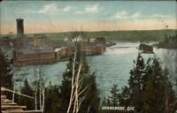 Grand Mere Grandmere Quebec Mills c1910 Postcard