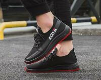 2019 Fashion Men's Casual Sports Breathable Sneakers Running Athletic Shoes