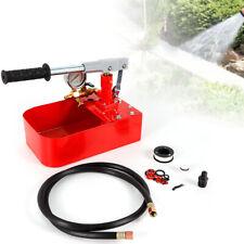 Manual Wateroil Pressure Testing Pump Pipework Hydrostatic Pressure Test 7mpa