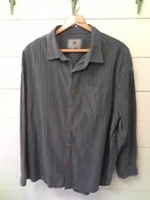 *TERRITORY AHEAD* Men's Shirt XL Blue Grey Long Sleeve