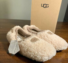 UGG Birche Woman's Slipper,Natural Size 7, 1007721 AUTHENTIC BRAND NEW Comfort