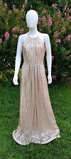 weddington way isabelle sequin gold Dress Gown Size 8