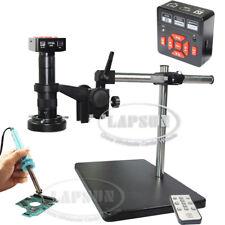 16MP 1080P 60FPS HDMI USB FHD Industrial Microscope Digital Camera PCB Repair US