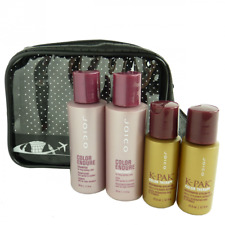JOICO Reise Pflege Set - Shampoo Conditioner Öl Styling Coloriertes Haar - 5tlg