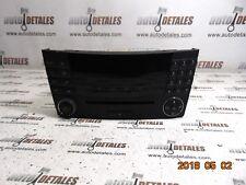 Mercedes E class W211 RADIO CD PLAYER HEAD UNIT A2118702189 used 2005