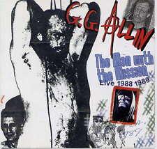 G.G.ALLIN - rare CD album - France