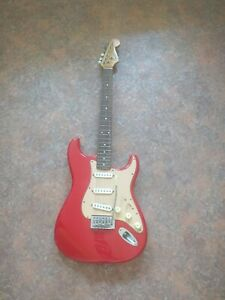 Squier by Fender Electric Guitar  Red Strat untested