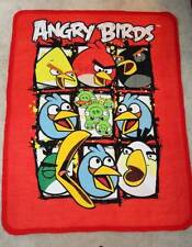 PICTURE PANEL FLEECE QUILT BLANKET- ANGRY BIRD CHARACTERS
