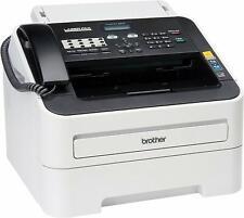Brother FAX-2840 High Speed Mono Laser Fax Machine, Dark/light gray - FAX2840