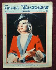 Cinema Illustrazione 1937 XII n° 40  Maria Gambarelli    23/12