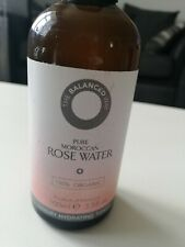 PURE MOROCCAN ROSE WATER..100ml BOTTLE..NEW/UNUSED..BB 02/20
