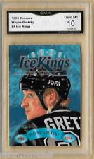 1993 DONRUSS WAYNE GRETZKY ICE KINGS CARD GMA GRADED 10
