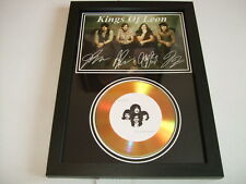 KINGS OF LEON  SIGNED GOLD CD  DISC  2