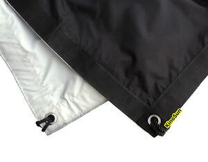 2.4x2.4m 8'x8' 8x8 Ultra Bounce Black & White Bounce Reflect Blackout