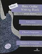 BASIC BASS GUITAR WRITING BOOK