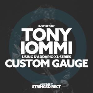 Tony Iommi D# Inspired Custom Gauge 8-32 Electric Guitar Strings