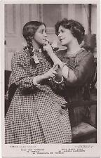 POSTCARD  ACTRESSES  MARIE  LOHR  &  IRIS  HAWKINS
