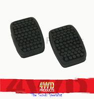 Brake/Clutch Pedal Pad SET - Vitara 1.6/2.0/2.0-V6 X90 1.6 Grand Vitara 2.0/2.5