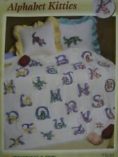 Needleworker's Delight Alphabet Kitties Cross Stitch Book Zweigart