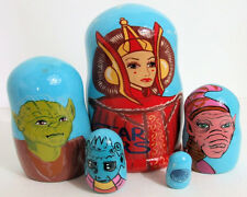 5pcs Hand Painted Russian Nesting Doll of Star Wars Style 2 Large