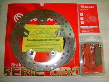 -DISCO FRENO BREMBO+PASTIGLIE POSTERIORE KTM 990 SUPERMOTO 07 > 12 7F1