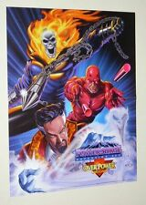 Dr Strange/Ghost Rider/Daredevil Marvel Comics Overpower gaming/card game poster